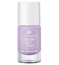 ESSENCE SHOW YOUR FEET ESMALTE DE UÑAS 16 MISS LAVENDER