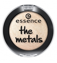ESSENCE SOMBRAS DE OJOS THE METALS 07 VANILLA BRILLANCE