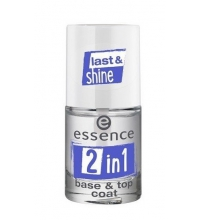 ESSENCE 2 EN 1 BASE GEL TOP COAT