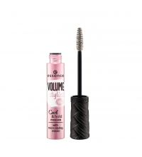 ESSENCE MÁSCARA VOLUME STYLIST 18 H CURL & HOLD BLACK 12 ML