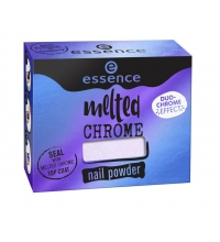 ESSENCE MELTED CHROME PIGMENTO UÑAS 01 PURPLE FICTION