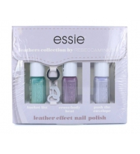 ESSIE SET ESMALTES LEATHERS COLLECTION EFFECT (3X5 ML)