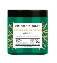 EUGENE PERMA COLLECTIONS NATURE MASCARILLA 4 EN 1 NUTRICIÓN ALBARICOQUE 250 ML