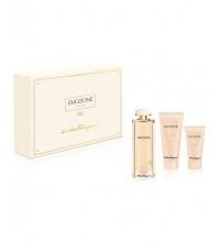 SALVATORE FERRAGAMO EMOZIONE EDP 92 ML + B/L 50 ML + S/GEL 100 ML SET REGALO