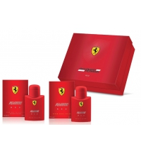 FERRARI SCUDERIA RED EDT 75 ML + A/S 75 ML SET REGALO