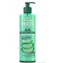 FRUCTIS CREMA GEL ALOE  SECADO NATURAL SIN ACLARADO 400ML