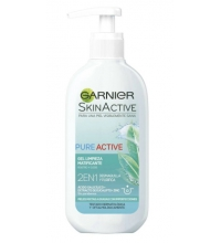 GARNIER SKIN PURE ACTIVE GEL 2 EN 1 200ML