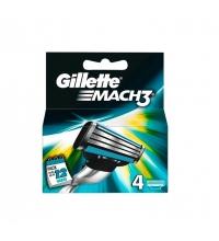 GILLETTE MACH3 4 RECAMBIOS
