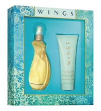 GIORGIO BEVERLY HILLS WINGS EDT 90 ML + B/L 100 ML SET REGALO
