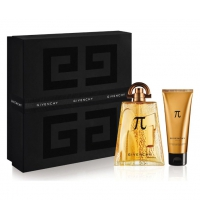 GIVENCHY PI EDT 100 ML + S/G 75 ML SET REGALO