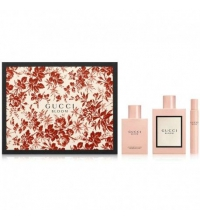 GUCCI BLOOM EDP 100 ML VAPO + B/L 100 ML + MINI 7.4 ML SET REGALO