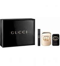GUCCI GUILTY EDT 75 ML +B/L 100 ML + MINI 7.4 ML SET REGALO