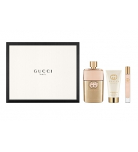 GUCCI GUILTY FOR HER EDP 90 ML + B/LOC 100 ML + MINI 7.4 ML GIFTSET