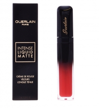 GUERLAIN - MAXI VELVET INTENSE LIQUID MATTE- M25 SEDUCTIVE RED