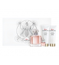 GUERLAIN MON GUERLAIN EDT 100 ML + MINIATURA + BODY LOCION 75 ML + GEL DUCHA 75 ML SET REGALO