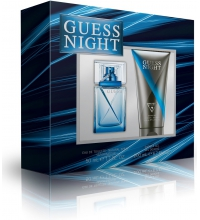 GUESS NIGHT MEN EDT 50 ML + SHOWER GEL 200 ML SET REGALO