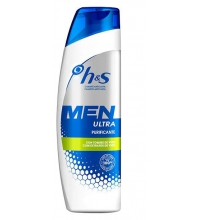 H&S MEN CHAMPU ANTICASPA ULTRA PURIFICANTE 300ML