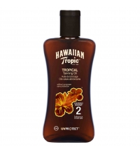 HAWAIIAN TROPIC ACEITE SECO SPF 2 200 ML