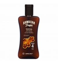 HAWAIIAN TROPIC ACEITE SECO SPF 4 200 ML