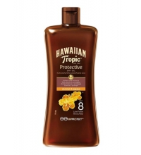 HAWAIIAN TROPIC ACEITE SECO  SPF 8 100 ML