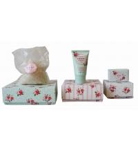 HEATHCOTE IVORY HAND AND BEAUTY BATH BOX ROSA (TRATAMIENTO CORPORAL DE ROSA)
