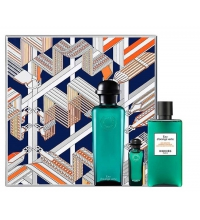 HERMES EAU D´ORANGE VERTE EDC 100 ML + GEL 80 ML + MINI 7.5 ML SET REGALO