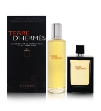 HERMES TERRE D´HERMES EDP 30 ML + RECARGA EDP 125 ML SET REGALO