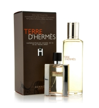HERMES TERRE D´HERMES EDT 30 ML + RECARGA EDT 125 ML SET REGALO
