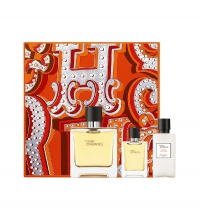 HERMES TERRE D'HERMES EDP 75 ML + 12.5 ML +AS/BALM 75 ML SET REGALO