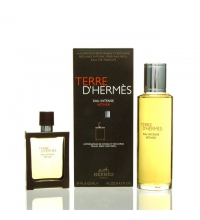 HERMES TERRE D'HERMES EAU INTENSE VETIVER EDT 30 ML + RECARGA 125 ML SET REGALO