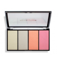 I HEART REVOLUTION RE-LOADED LUSTRE LIGHT COOL PALETA ILUMINADORES 5 GR