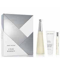 ISSEY MIYAKE L´EAU D´ISSEY EDT 100 ML + EDT 10 ML + B/LOC 75 ML SET REGALO