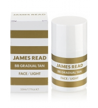 JAMES READ BB GRADUAL TAN FACE LIGHT 50 ML AUTOBRONCEADOR ROSTRO LIGHT