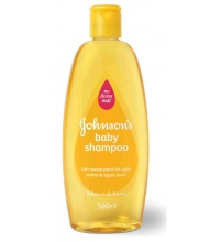 JOHNSON'S BABY CHAMPÚ 500 ML