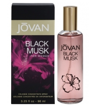 JOVAN BLACK MUSK FOR WOMEN COLONIA SPRAY 96ML