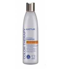 KATIVA COLOR THERAPY ANTI-BRASS SHAMPOO 250ML
