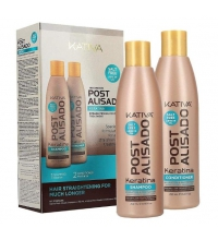 KATIVA KIT POST ALISADO CHAMPU 250ML+ACONDICIONADOR 250ML