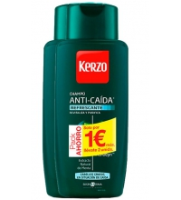 KERZO CHAMPU ANTI-CAIDA REFRESCANTE 2X400ML