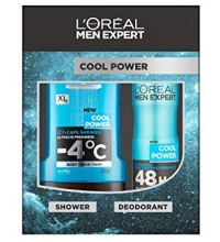 L'OREAL MEN EXPERT COOL POWER DESODORANTE 150ML + GEL 300ML