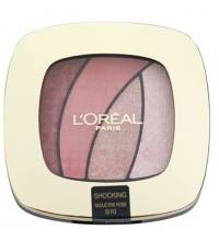 L'ORÉAL QUAD COLOR RICHE SEDUCTIVE ROSE S10