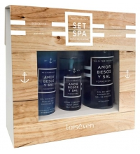 LAISEVEN SPA FORMENTERA (GEL + EXFOLIANTE + SPRAY CORPORAL) SET REGALO