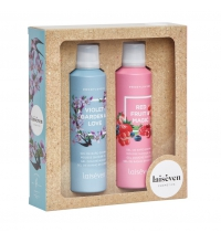 LAISEVEN GEL BAÑO EN ESPUMA VIOLET & GARDEN 200 ML + RED FRUIT & MAGIC 200 ML SET REGALO