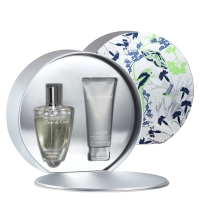 LALIQUE FLEUR DE CRISTAL EDP 100 ML + S/ GEL 100 ML SET REGALO
