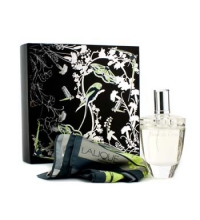 LALIQUE FLEUR DE CRISTAL EDP 100 ML + PAÑUELO SET REGALO