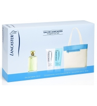 EAU DE LANCASTER EDT 125 ML + B/L 200 ML + GEL 200 ML + BOLSO SET REGALO