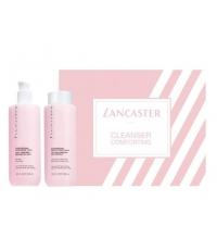 LANCASTER CLEANSERS COMFORTING  MILK 400 ML + TONER 400 ML P/SECAS SET