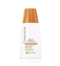 LANCASTER SUN CONTROL SPF 50 ANTI WRINKLE & DARK SPOT SENSITIVE SKIN RADIANG GLOW FLUIDO 30 ML