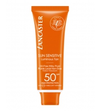 LANCASTER SUN SENSITIVE PROTECTOR SOLAR OIL-FREE MILKY FLUID SPF 50 50 ML