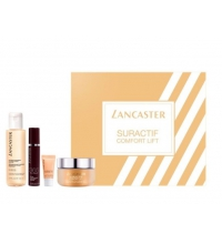 LANCASTER SURACTIF COMFORT LIFT DAY CREAM 50 ML + CLEANS. 100 ML + EYE CREAM 3 ML  + 365 SERUM 10 ML SET REGALO