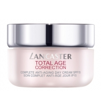 LANCASTER TOTAL AGE CORRECTION COMPLETE ANTI AGING DAY CREAM SPF15 50 ML